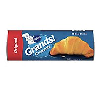 Pillsbury Grands! Crescents Big Dinner Rolls Big & Flaky 8 Count - 12 Oz