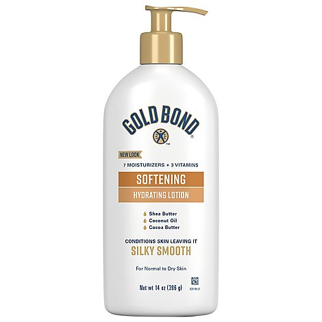 GOLD BOND Ultimate Softening Lotion Shea Butter - 14 Oz