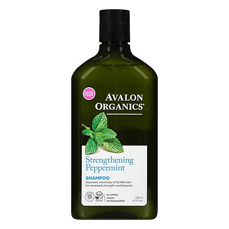 Avalon Organics Shampoo Peppermint - 11 Fl. Oz.