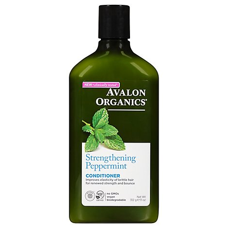 Avalon Organics Conditioner Peppermint - 11 Fl. Oz.