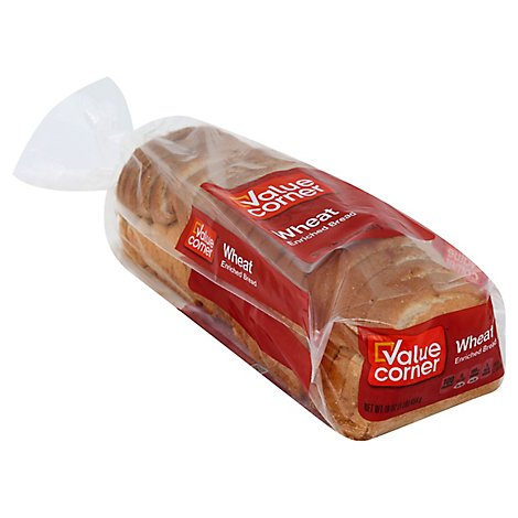 Value Corner Bread Wheat - 16 Oz