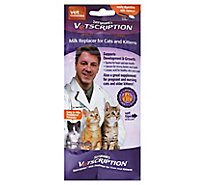Sergeants Vetscription Milk Replacer For Cats & Kittens Pack - 8 Oz