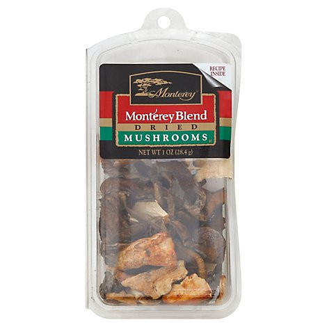 Monterey Mushrooms Dried Monterey Blend - 1 Oz