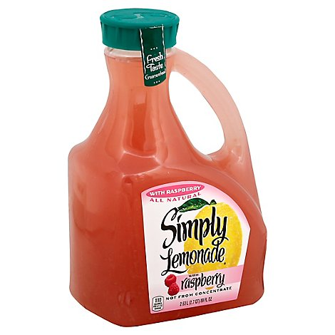 Simply Lemonade Juice All Natural With Raspberry - 2.63 Liter