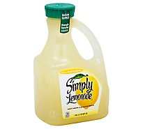 Simply Lemonade Juice All Natural - 2.63 Liter