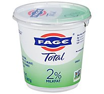 Fage Total 2% Yogurt Greek Lowfat Strained - 35.3 Oz