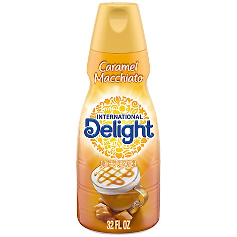 International Delight Coffee Creamer Caramel Macchiato - 32 Fl. Oz.