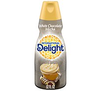 International Delight Coffee Creamer White Chocolate Mocha - 32 Fl. Oz.