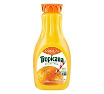 Tropicana Orange Juice Pure Premium No Pulp Original Chilled - 52 Fl. Oz.