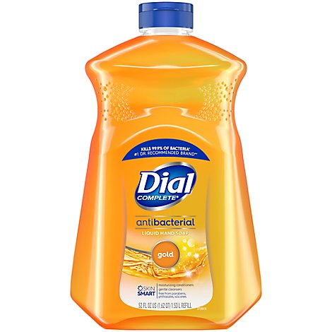 Dial Liquid Hand Soap Gold With Moisturizer Refill - 52 Fl. Oz.