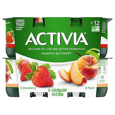 Activia Probiotic Yogurt Lowfa - Online