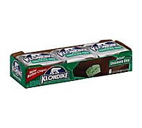 Klondike Ice Cream Bars Mint Chocolate Chip - 6 Count