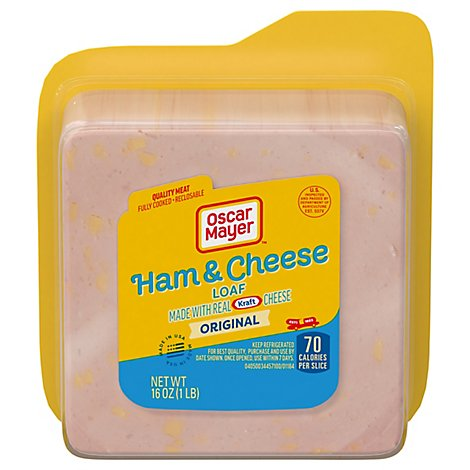 Oscar Mayer Loaf Ham & Cheese - 16 Oz