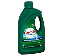 Cascade Complete Dishwasher Detergent Gel With Dawn Fresh Scent - 75 Oz