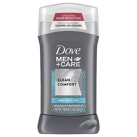 Dove Men+Care Deodorant Clean Comfort - 3 Oz