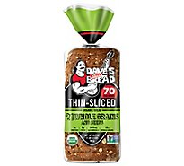 Daves Killer Bread Organic Light Whole Grain - 20.5 Oz