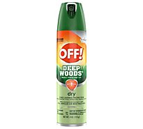 OFF! Deep Woods Insect Repellent VIII Dry 4 oz 1 ct