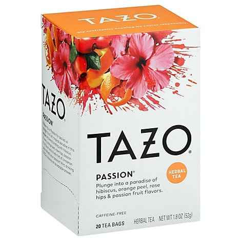 TAZO Tea Bags Herbal Tea Passion - 20 Count