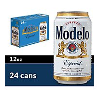 Modelo Especial Beer Mexican Lager 4.4% ABV Cans - 24-12 Fl. Oz.