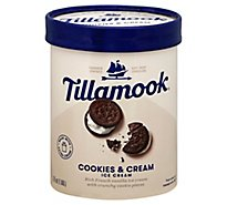 Tillamook Cookies And Cream Ice Cream - 1.75 Quart