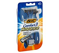BIC Shavers Comfort 3 Advance - 6 Count