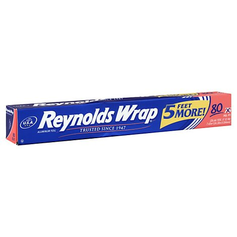 Reynolds Wrap Aluminum Foil - 75 Sq. Ft.