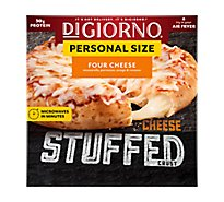 DIGIORNO Pizza Cheese Stuffed Crust Four Cheese Frozen - 8.5 Oz