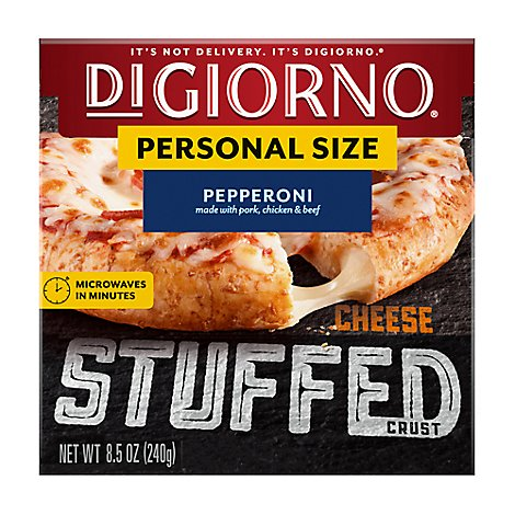 DIGIORNO Pizza Cheese Stuffed Crust Pepperoni Frozen - 8.5 Oz