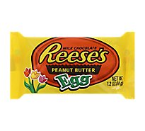 Reeses Peanut Butter Eggs Milk Chocolate Covered - 1.2 Oz