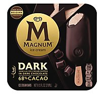 Magnum Ice Cream Bar Dark 60% Cacao - 3 Count