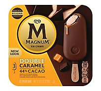 Magnum Ice Cream Double Caramel 3 Bars - 9.12 Fl. Oz.