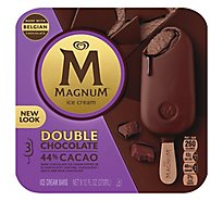 Magnum Ice Cream Bar Double Chocolate - 3 count