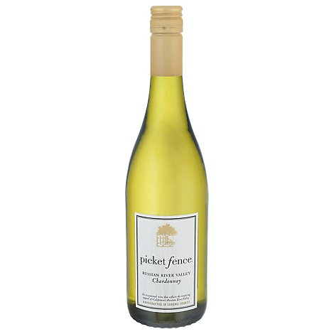 Picket Fence Chardonnay Russian River Valley Wine - 750 Ml