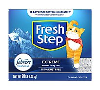 Fresh Step Cat Litter Scoopable Extreme Scented Box - 20 Lb