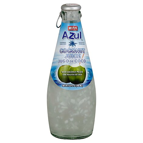 Mira Azul Coconut Juice With Coconut Pieces - 9.8 Fl. Oz.