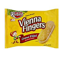 Keebler Vienna Fingers Cookies Sandwich Creme Filled - 14.2 Oz