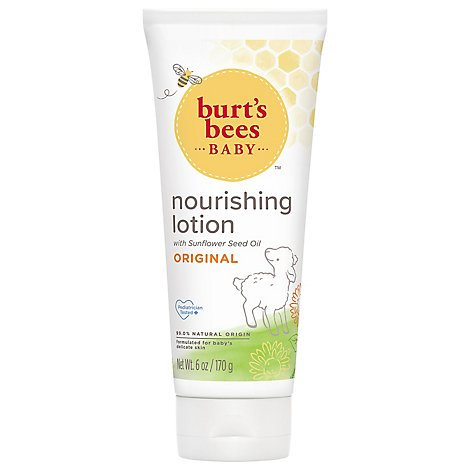 Burts Bees Baby Bee Lotion Nourshing Original - 6 Oz