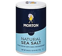 MORTON Sea Salt Natural All-Purpose - 26 Oz