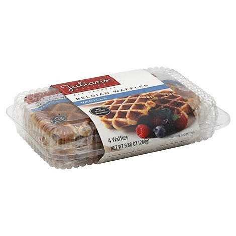 Julians Waffles Butter Vanillla - Each