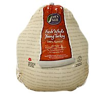 Open Nature Whole Turkey Fresh - Weight Between 09-16 Lb