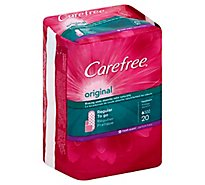 Carefree Pantiliners Regular To Go Original Fresh Scent - 20 Count