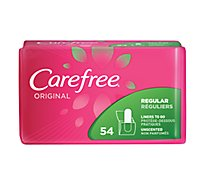 Carefree Original Pantiliners Regular Fresh Scent - 54 Count