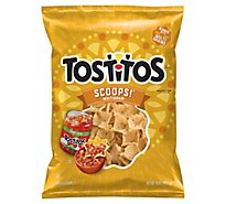 TOSTITOS Tortilla Chips Scoops Multigrain - 10 Oz