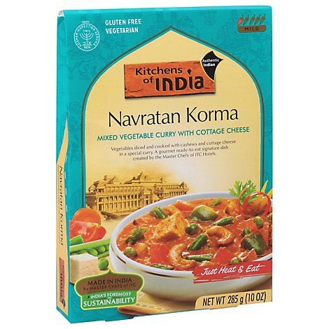 Kitchens Of India Mixed Vegetable Curry Sauce - 10 Oz