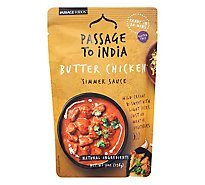 Passage Foods Simmer Sauce Passage to India Butter Chicken Mild Pouch - 7 Oz