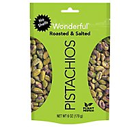 Wonderful Pistachios No Shells Roasted & Salted - 6 Oz