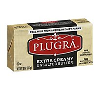 Plugra European Style Unsalted Butter - 8 Oz