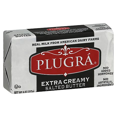 Plugra European Style Salted Butter - 8 Oz