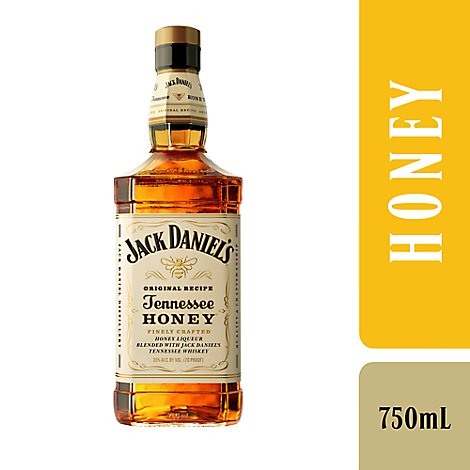Jack Daniels Whiskey Tennessee Honey Flavored 70 Proof - 750 Ml
