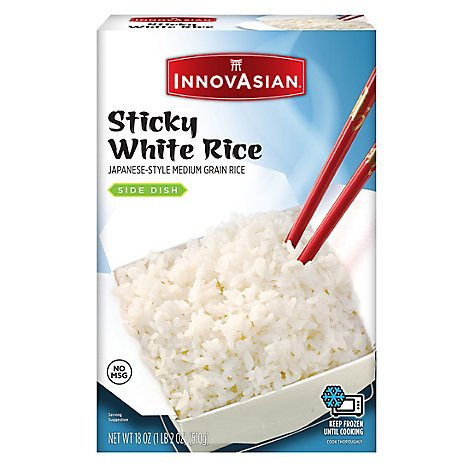 InnovAsian Cuisine Sides White Rice Sticky - 18 Oz